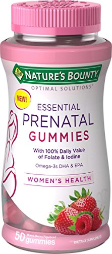 Nature's Bounty Optimal Solutions Essential Prenatal Gummies, 50 Count For Sale