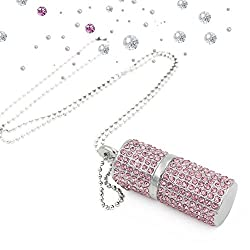 USB Flash Drive With Bling Rhinestones