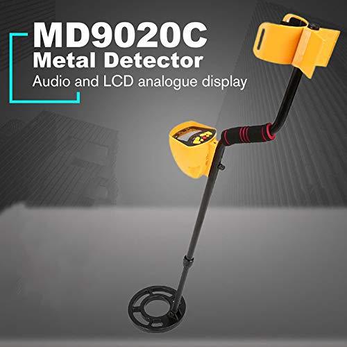 Binchil MD9020C Rilevatore di Metalli Sotterraneo Portatile Professionale Cacciatore di Tesori Portatile Cercatore di Cercatori DOro Funzione Pinpoint