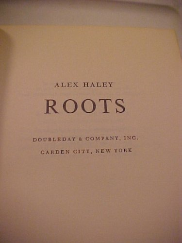Books : Roots (International Collectors Library)