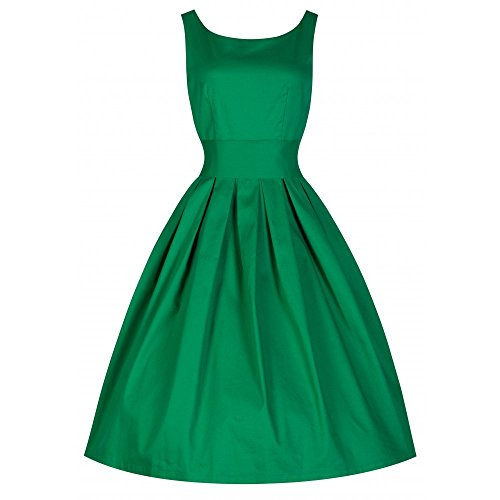 Lindy-Bop-Lana-Medium-Green-50s-Inspired-Evening-Dress