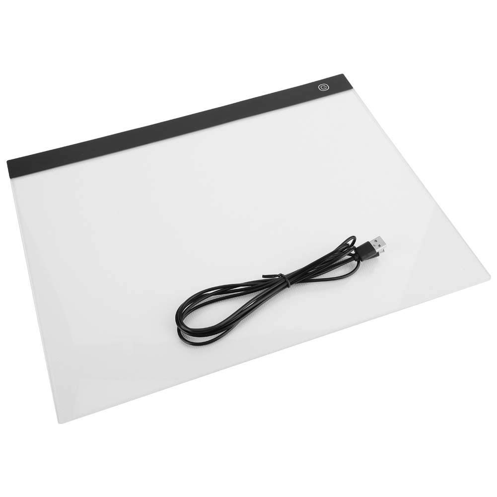 FTVOGUE A3 LED Tracing Light Board Ultra-Thin Art Stencil Drawing Copy Pad Table Board by FTVOGUE