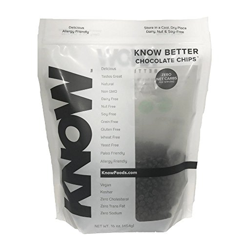 Know Foods Know Better Chocolate Chips  16 Ounce