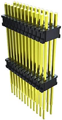 2 Rows, DWM Series Pack of 5 DWM-32-60-S-D-490 Through Hole 64 Contacts Board-To-Board Connector Header 1.27 mm