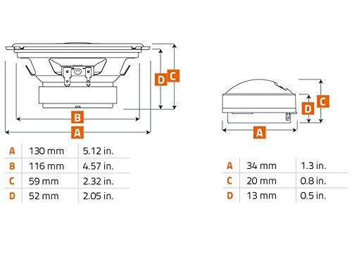Hertz Uno Altavoces K130 13 cm 440 W Sistema compostador con ...