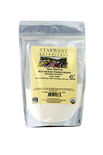 (Organic Wild Yam Root Powder - 4 oz)