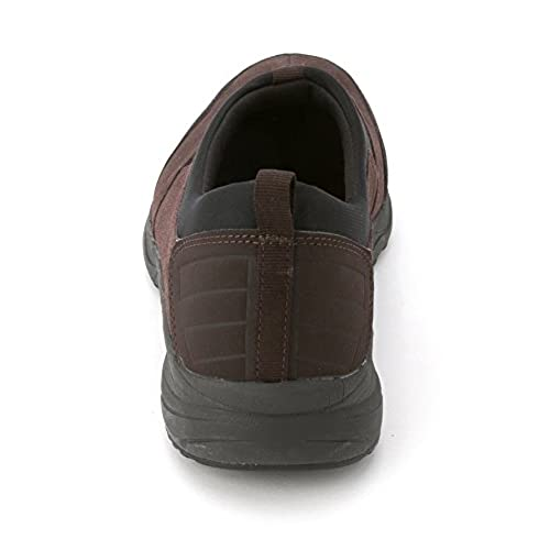 Easy Spirit Women's Takina Suede Slide On Sneakers, Dark Brown, Size 6.0 hot sale