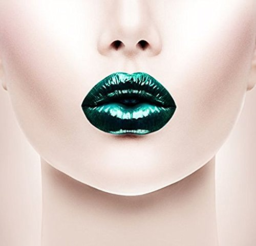 Green Metallic Liquid Lipstain - Money Green