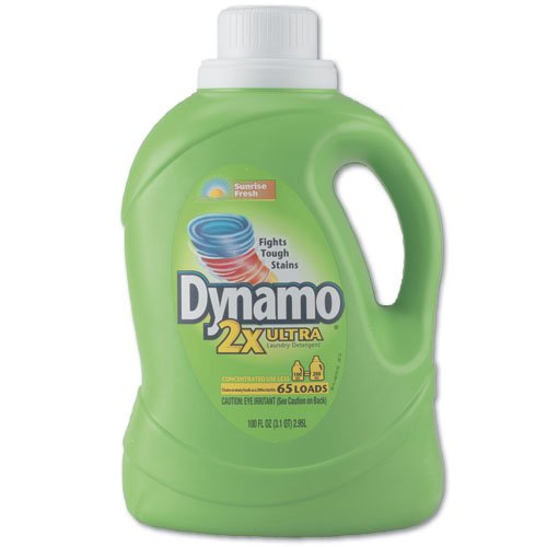 Dynamo Laundry Detergent, Oxi Plus Original Sunrise Fresh, 100oz (3.1QT) 2.95L for $<!--$48.49-->