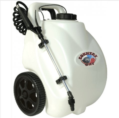 Country Way 5 Gallon Rechargeable Sprayer LG 05 SS by Country Way 5 Gallon Rechargeable Sprayer