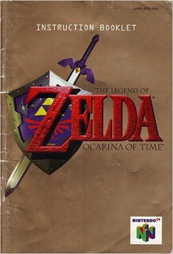 The Legend Of Zelda Ocarina Of Time N64 Instruction Booklet