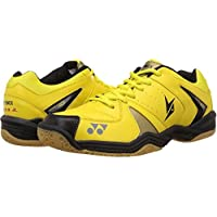 Yonex Badminton Non Marking Shoes - 9 UK, Yellow