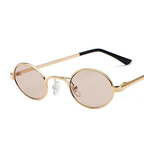 Aoligei Mode lunettes de soleil Eye lunettes de soleil métal européen et américains lunettes de soleil couleur film Mesdames lunettes PqrSPUFnXz