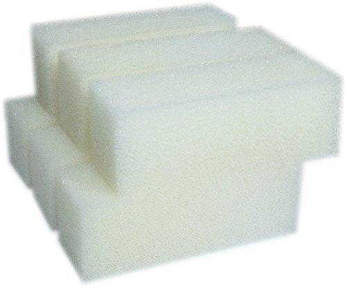 LTWHOME Foam Filter Pads Fit for Aqua Clear 110 / 500 AquaClear (Pack of 6) (Aquaclear 500 Aquarium)