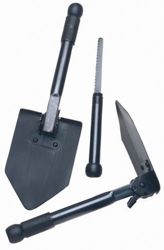 Texsport Folding Survival w/Saw Shovel, Outdoor Stuffs