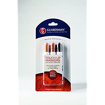 Guardsman Wood Touch Up Markers 3 Colors Touch Up And