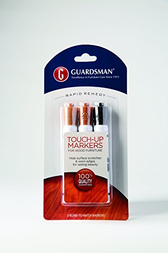 Cheap  Guardsman Wood Touch-Up Markers - 3 Colors - Touch-Up and Repair Scratches..