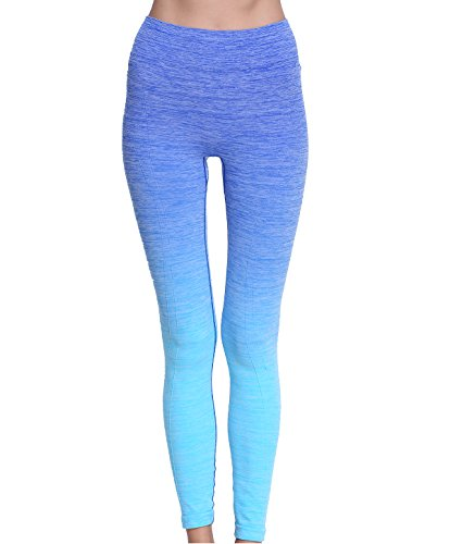 RUNNING-GIRL-Performance-Womens-Ombre-Yoga-Pants-Active-Leggings-Space-Dye-Workout-Tights