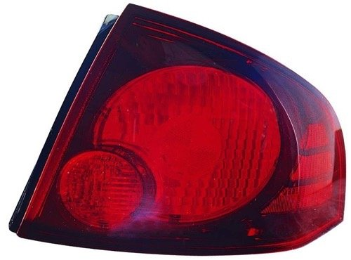 Go-Parts - OE Replacement for 2004-2006 Nissan Sentra Rear Tail Light Lamp Assembly/Lens/Cover - Right (Passenger) Side - (SE-R + SE-R Spec V) 26550-6Z825 NI2801165 Replacement For Nissan Sentra