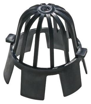 Fallrohr eckig auf rund  Vier (4) Blattdesign guards für 68 mm rund oder 61/65 mm Fallrohr ...