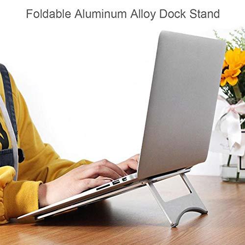 Efanr Aluminum Laptop Stand, Ergonomic Cooling Notebook Stand Desk Dock Holder Bracket Fits Up to 17 inch Laptops & Tablets by Efanr (Image #6)