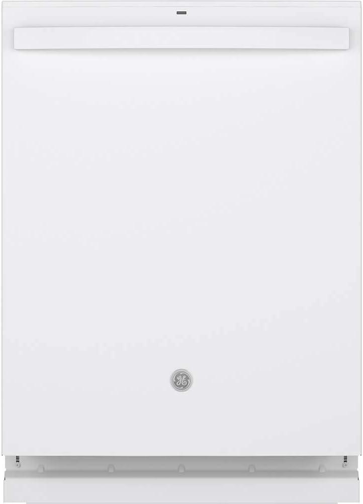 "GE 24"" White Built-In Dishwasher"