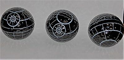 Death Star Golf Ball 3 pack