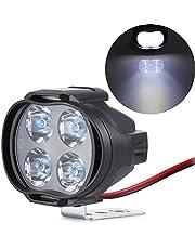 OurLeeme 9-85 V 4 LED High Power LED licht motorfiets super helder wit 5700-7000 K voor motorfiets scooter