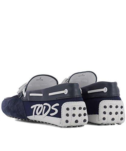 Tods Mens Xxm0gw0x900iu00zyu Mocassini In Pelle Blu