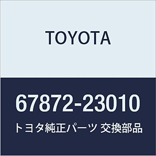 TOYOTA Genuine 67872-23010 Door Weatherstrip