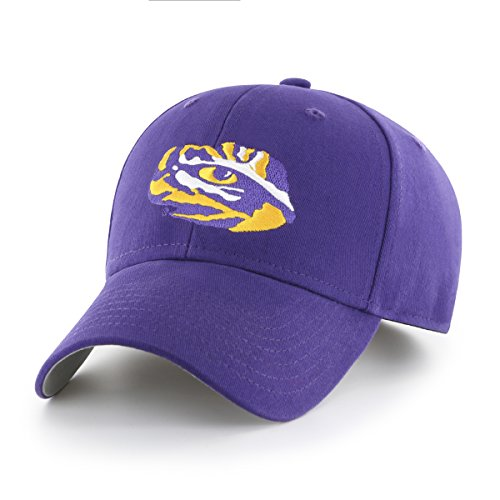 NCAA LSU Tigers Children Cinch Ots All-Star MVP Adjustable Hat, Kids, Purple