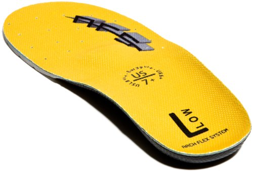 ArchFlexSystem Adult Upgrade Replacement Insole, Low Yellow, 7 (Eva 07)