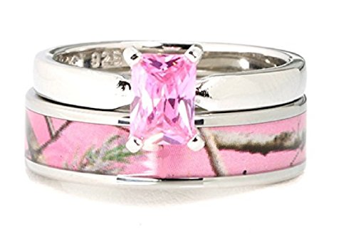 Women%60s Stanless Sterling Tourmaline Engagement product image