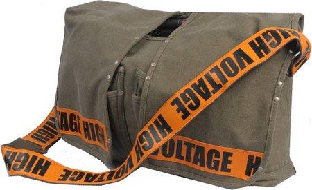 "Utility ""High Voltage"" Lap Top/Messenger Bag"