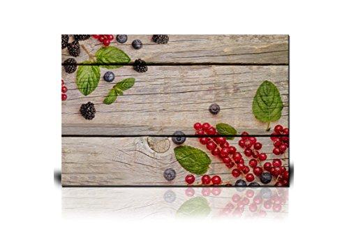 Fresh Summer Berries on Wooden Background Gallery