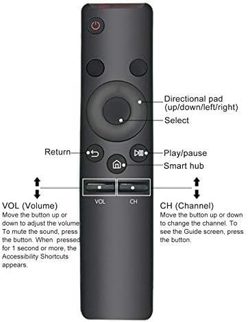 New BN59-01259B Replace Remote have compatibility for Samsung 4K UHD TV 6 sequence UN40KU6290 UN40KU6290F UN40KU6290FXZA UN50KU6290UN50KU6290F UN50KU6290FXZA UN55KU6290 UN55KU6290F UN55KU6290FXZAUN60KU6270 UN60KU6270F