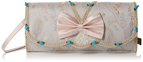 Irregular Choice Womens Bow Beauty Clutch Clutch White (White)