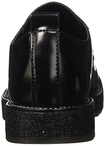CAFèNOIR Women's Lfh925010 Derbys, Black Black (Nero 010)