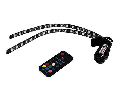 Raidmax x2 (Dual) 30cm Magnetic RGB Multi Color LED Light Strip by Raidmax