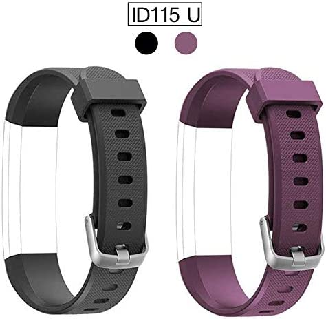 ID115U HR 교체용 밴드 블랙+퍼플 / ID115U HR 교체용 밴드 블랙+퍼플