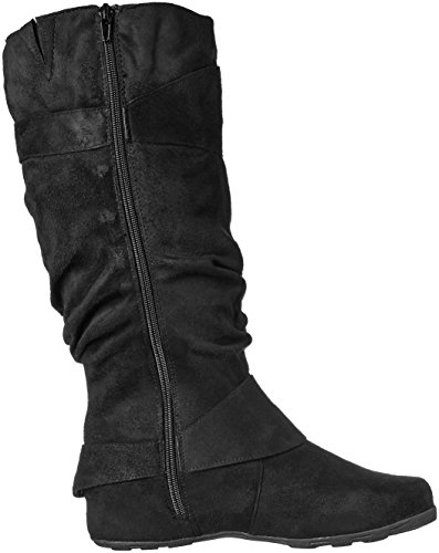 Augusta Brinley Women's Slouch Boot 02 Black Co Tnq0AwE