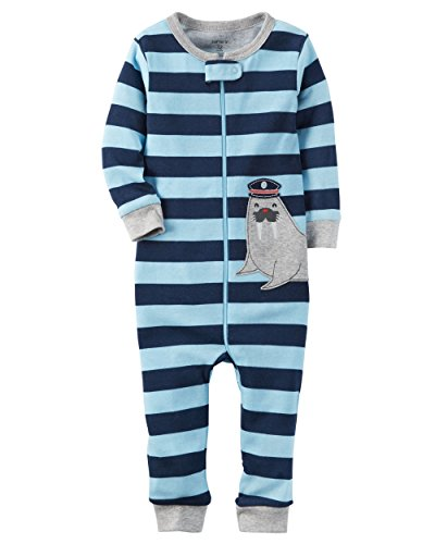 Carters 1 Piece Footless Cotton Pajamas