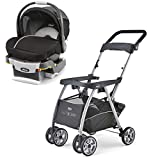 Chicco KeyFit 30 Infant Stroller Caddy, Rear Facing Car Seat, and Base Travel System