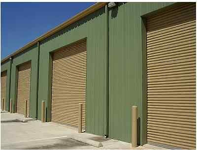 12x14 DBCI Commercial 2250 Series Insulated RollUp Door w/Hardware & Chain Hoist