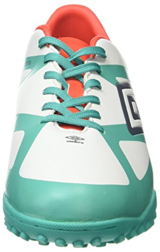Umbro Velocita Iii Club Tf, Botas de Fútbol para Hombre Multicolor (Dawn Blue/Carbon/Fiery Red/Spectra Green Epe)