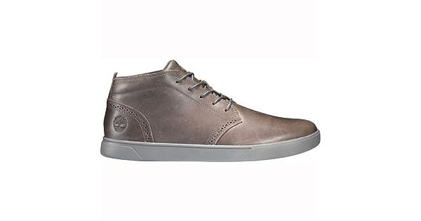 Timberland Groveton Chukka Zapato de Piel para Hombre, Dark