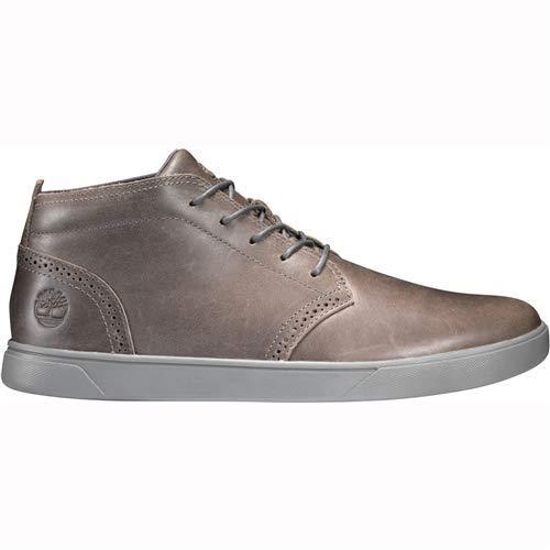 Timberland Men Groveton Chukka Boots Dark Grey Full Grain (12 D US)