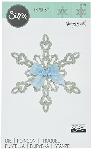 - Sizzix 661540 Thinlits Die, Snowflake by Sharyn Sowell
