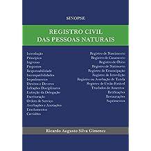 Sinopse de Registro Civil das Pessoas Naturais (Portuguese Edition)