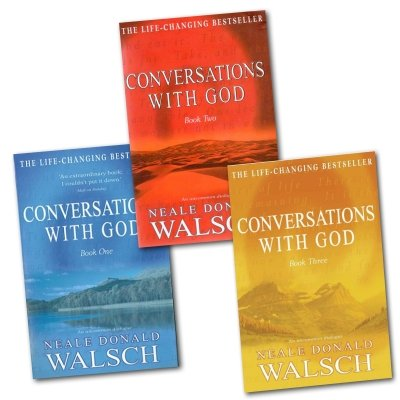 Neale Donald Walsch - Conversations with God Trilogy: 3 books Collection set (Book 1, Book 2, Book 3) (Conversation With God Book 2)